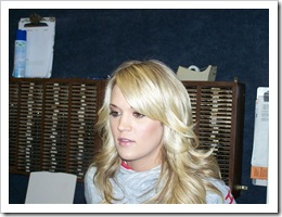 Carrie Underwood at WXBQ