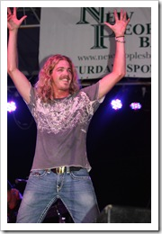 James Otto, Kellie Pickler & Bucky Covington…another fair is over for this year.